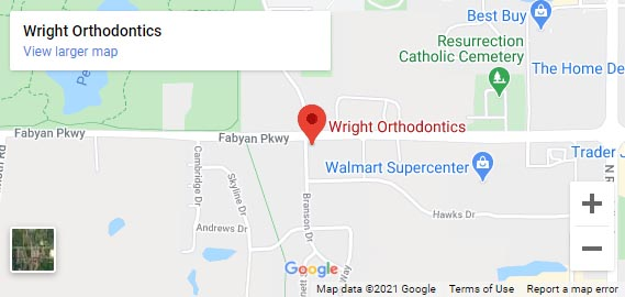 WRIGHT ORTHODONTICS 2550 West Fabyan Pkwy Batavia, IL 60510